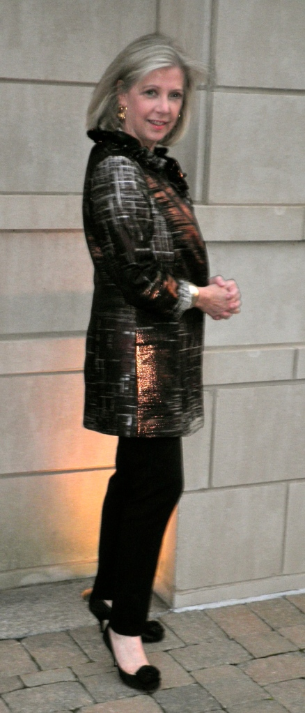 Carolina Herrera brocade jacket