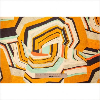 Mood Fabrics silk habotai print