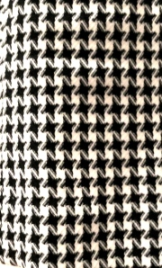 Wool houndstooth fabric from moodfabrics.com.