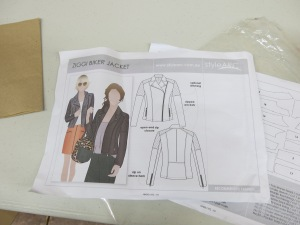 This Style Arc jacket will be made with.......
