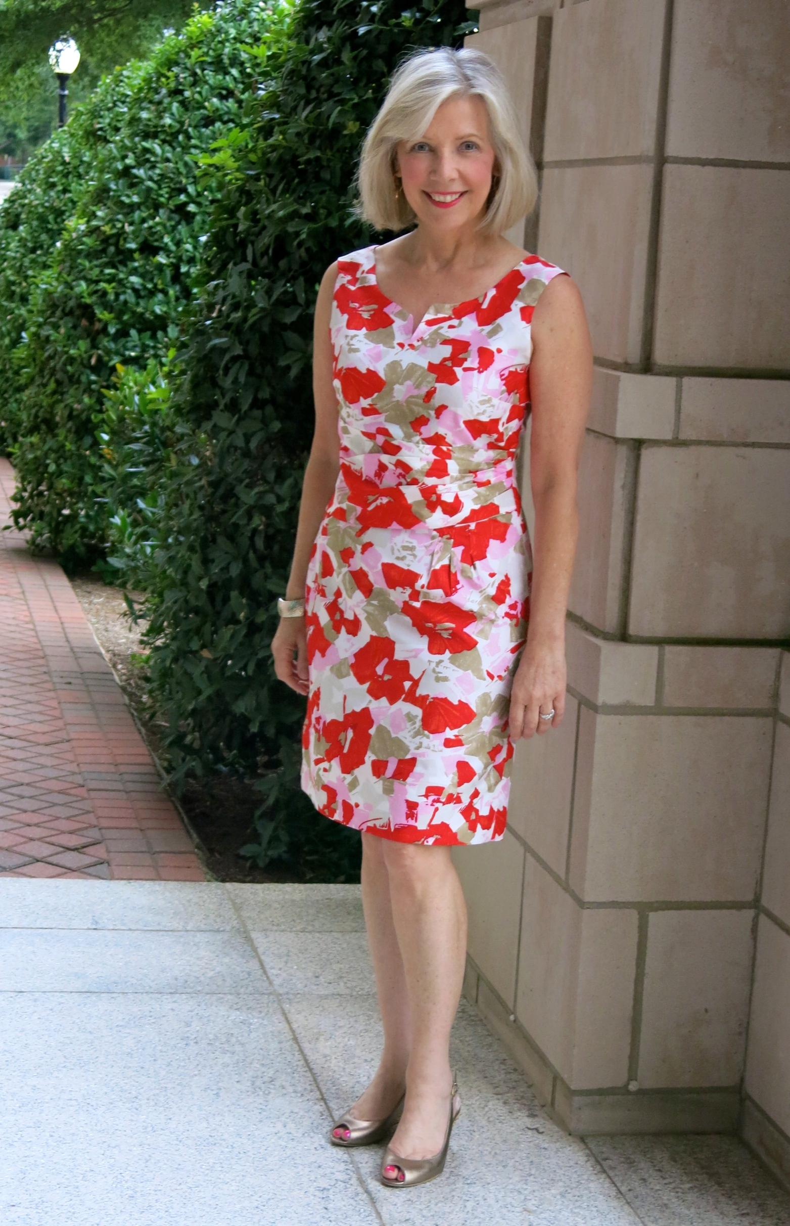 www.goodbyevalentino.com  Mood Fabrics Oscar de la Renta silk taffeta